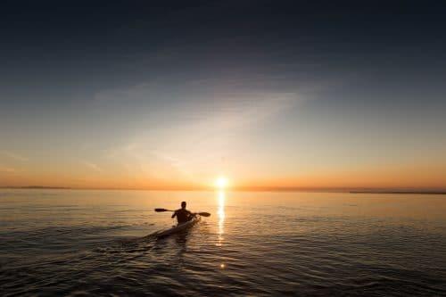 kayak de mer
