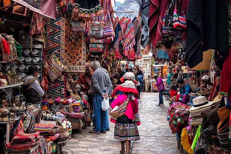 Marché au Pérou