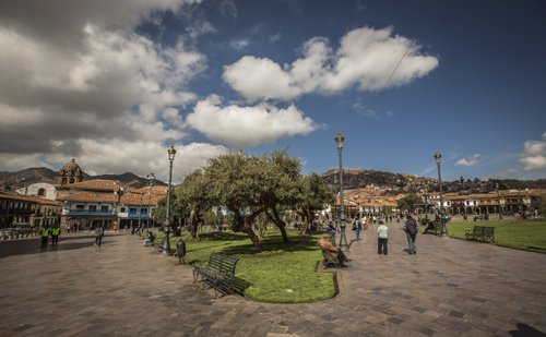 Plaza de arma Cusco