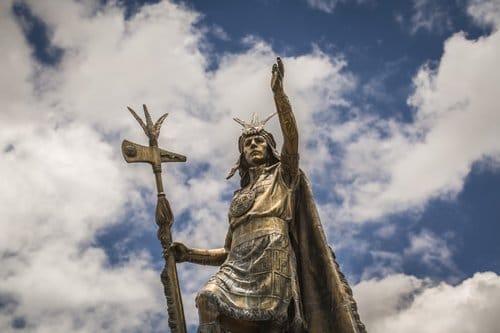 statue du Pérou