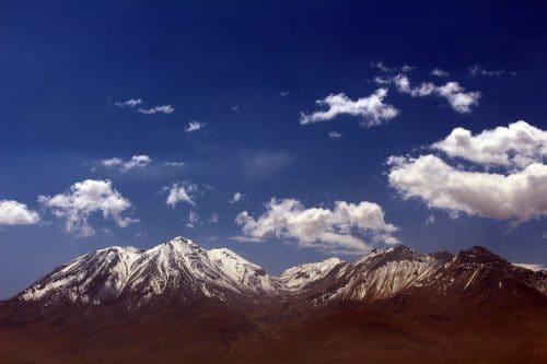 paysage du volcan