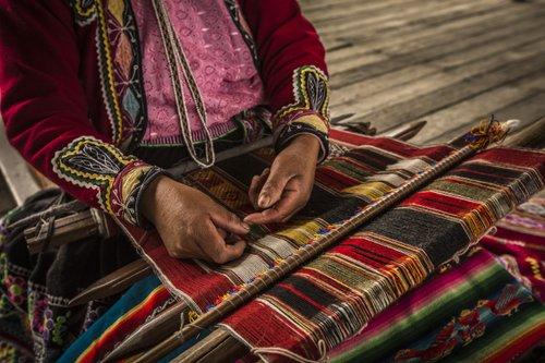 tissage au Pérou