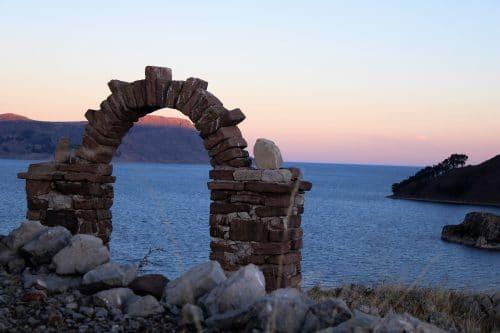 Ile sur le lac Titicaca