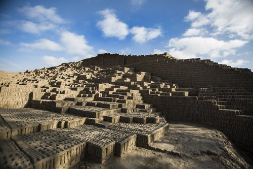 site archéologique proche de lima