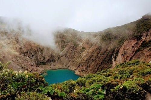 cratere de volcan