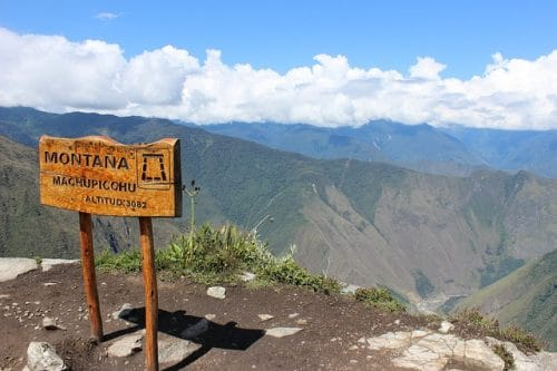 montagne du Perou