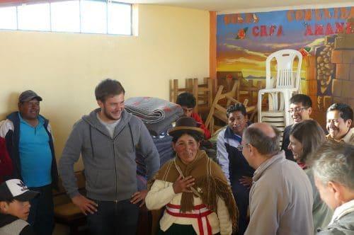 Projet solidaire école péruvienne