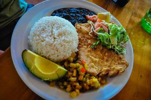 repas costaricien