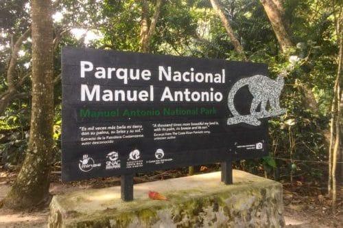panneau parc national