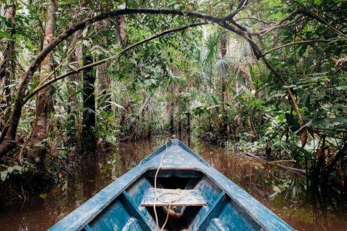 bateau amazonie