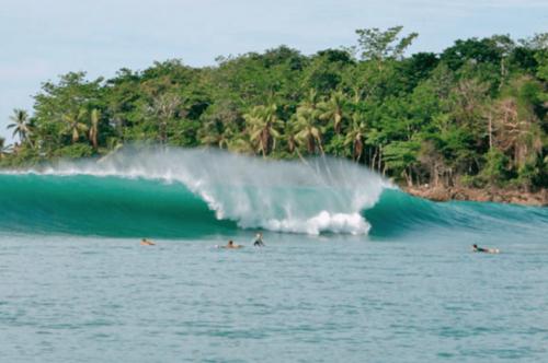 vague au Costa Rica