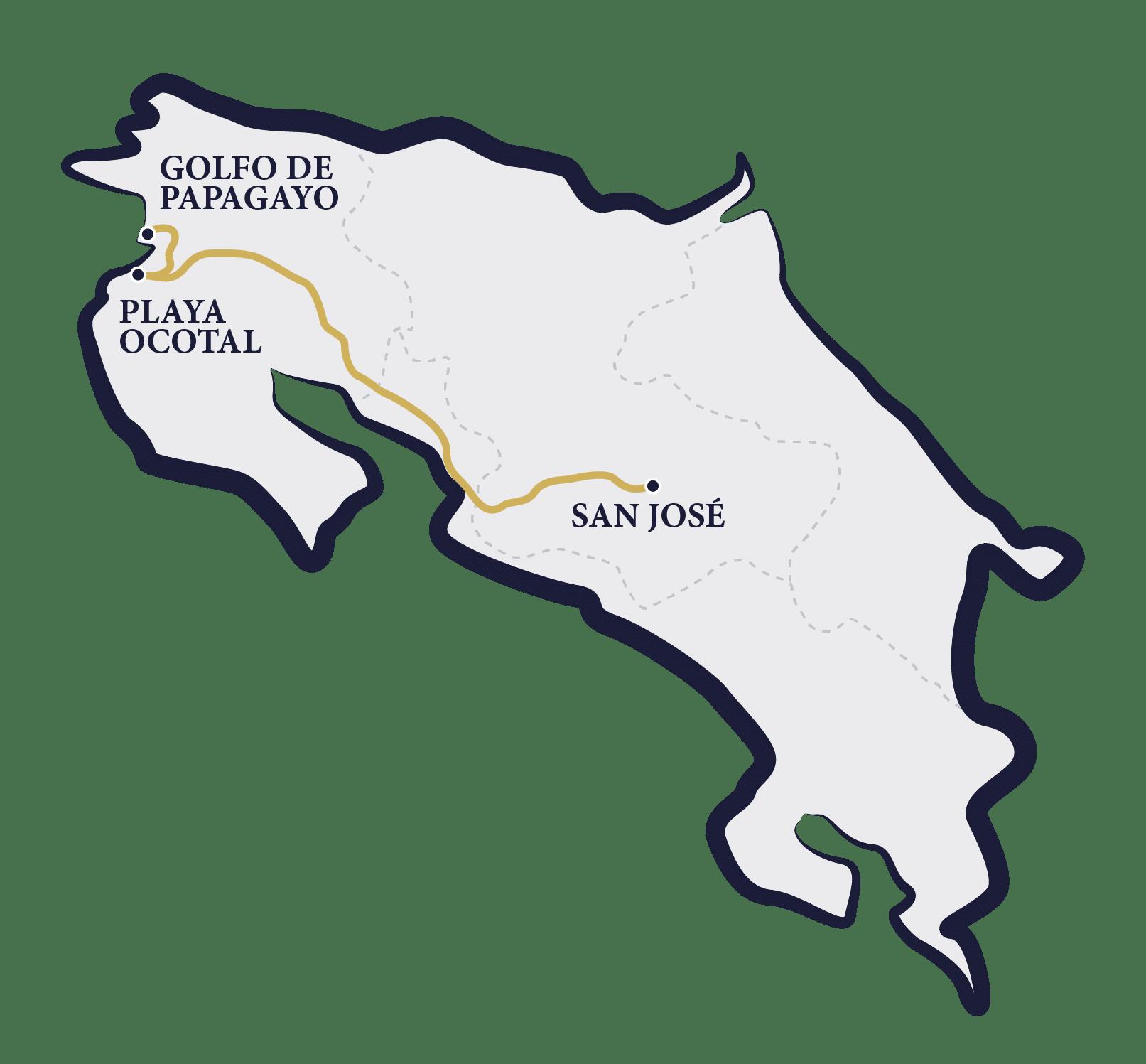plages du Costa Rica