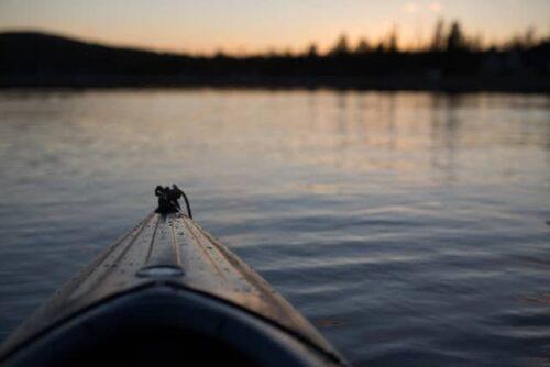 canoe lac titicaca