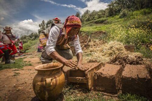 Méthode de construction du Pérou