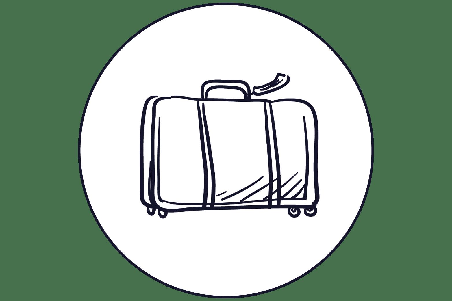 illustration valise
