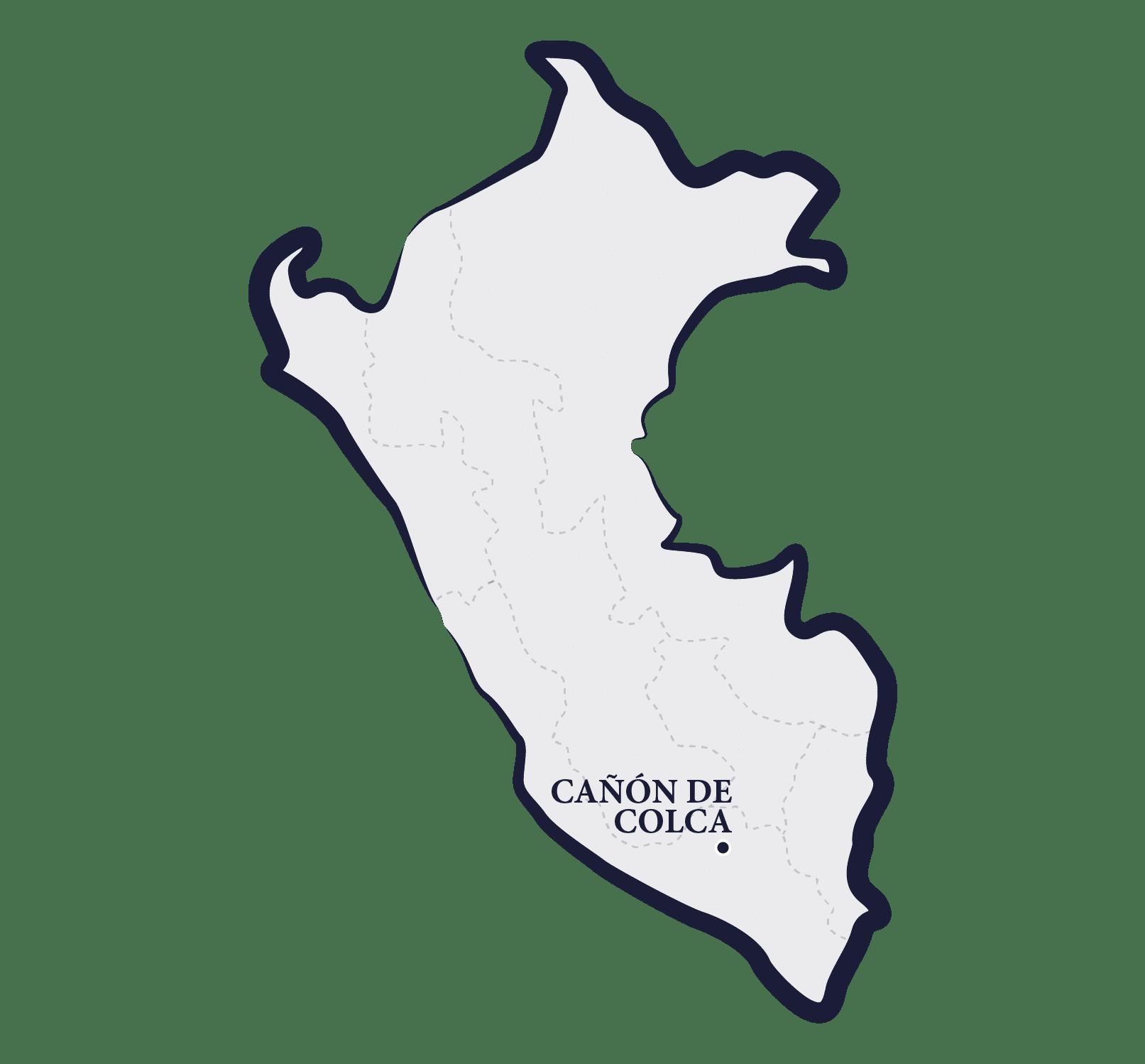carte de Colca