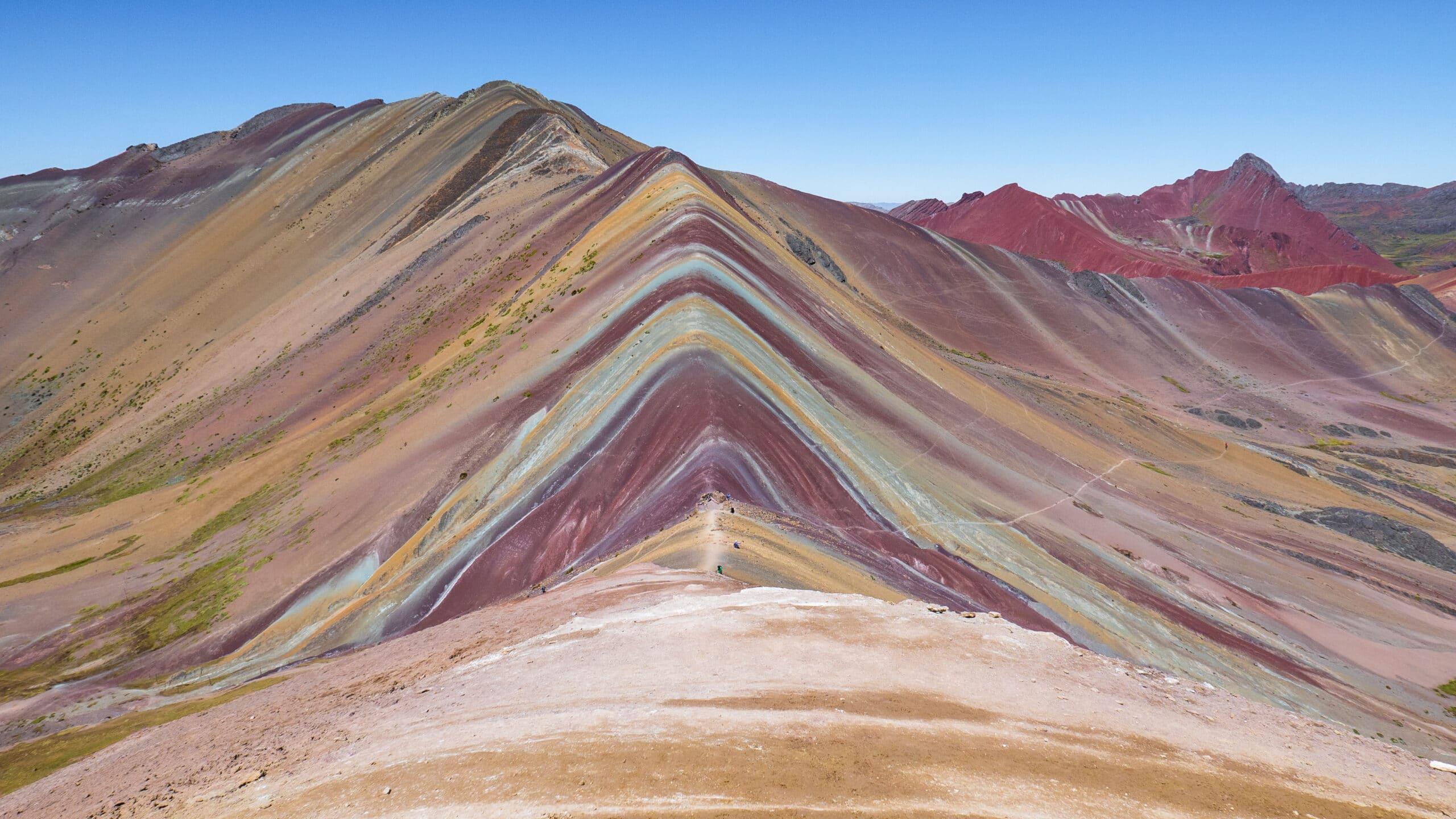 Montagne 7 couleur du Pérou