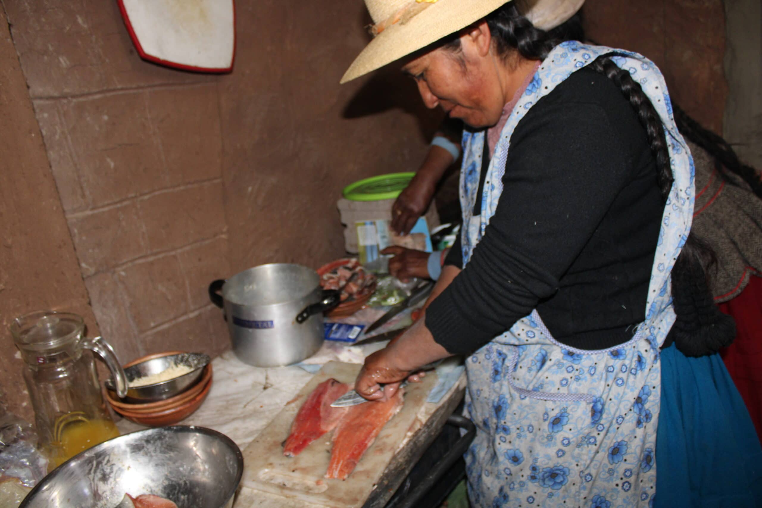 plat peruvien lac titicaca