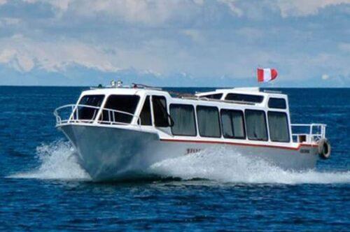 bateau lac titicaca