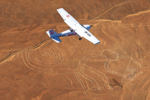 survol de nazca en avion