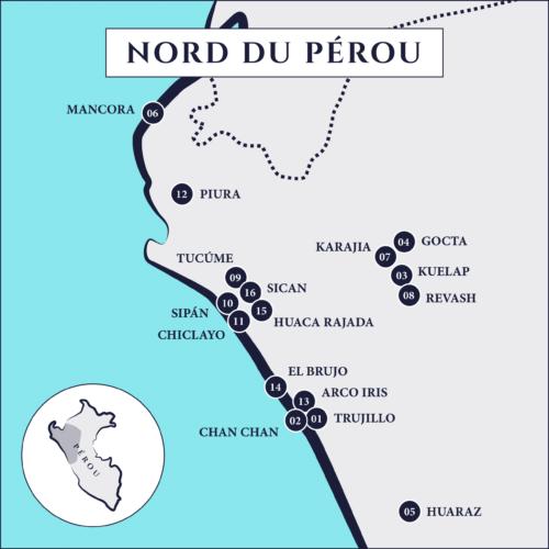 Circuits au Pérou
