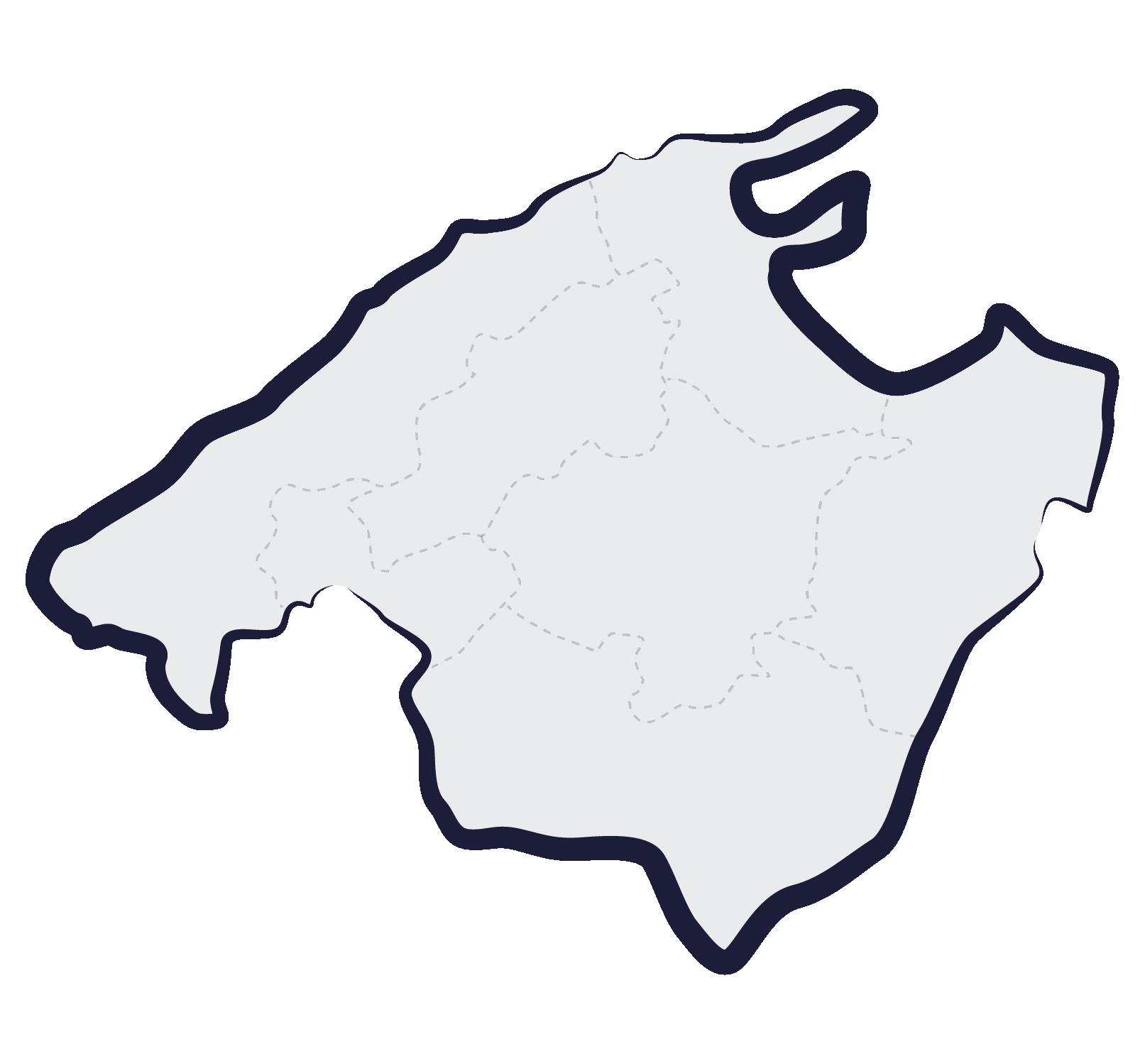 carte majorque