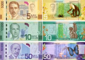 billet monnaie costa rica