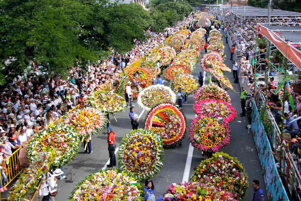 festival fleurs medellin