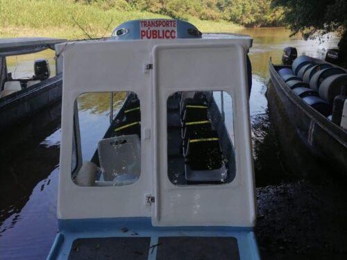 bateau pour tortuguero